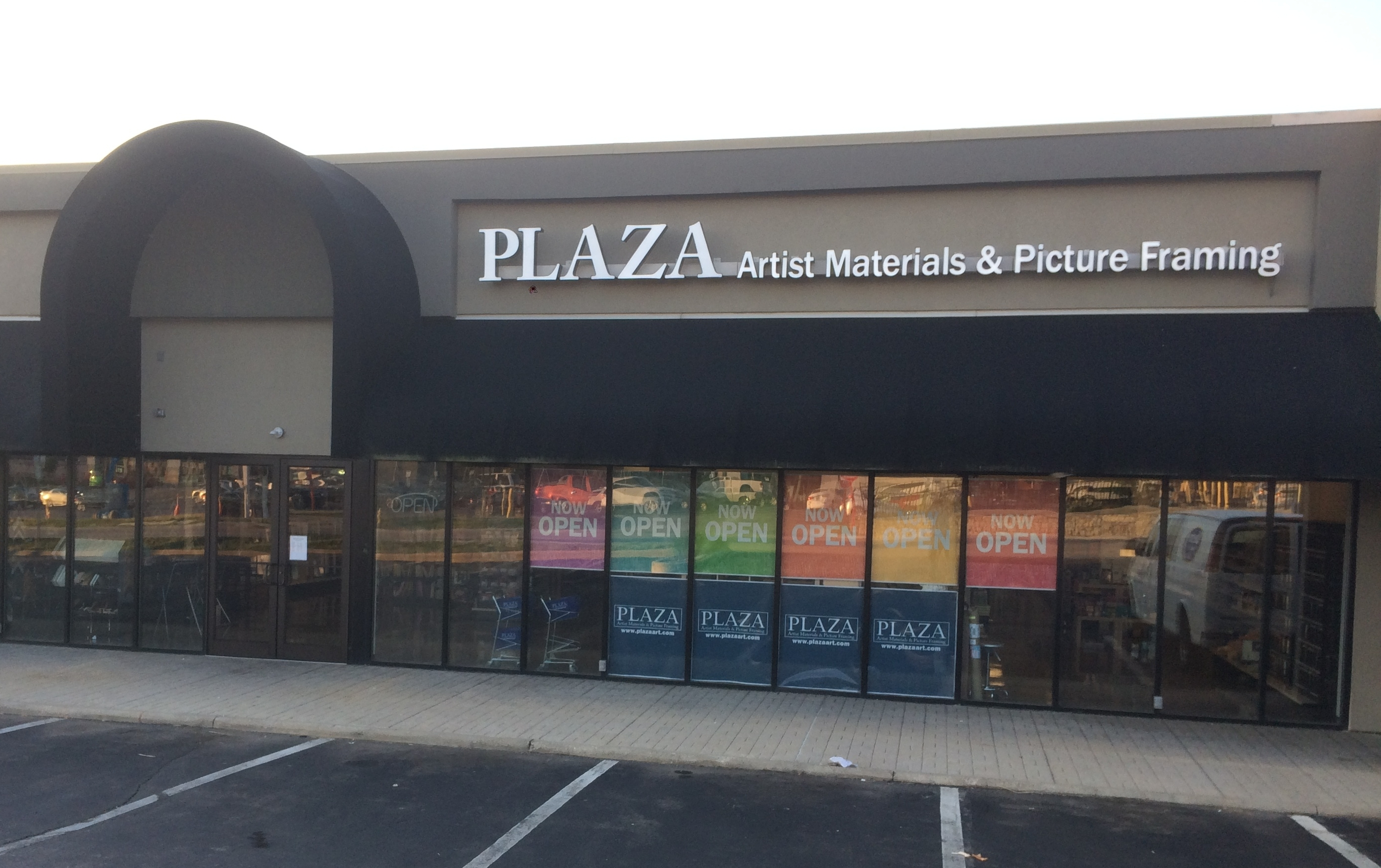 plaza artist materials picture framing 8118 montgomery rd
