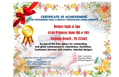 Deluxe Nails & Spa - Virginia Beach, VA