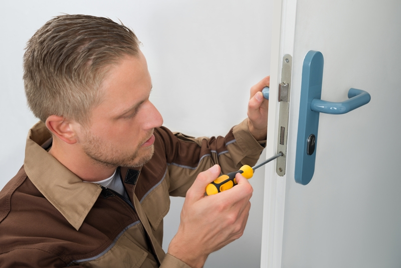 Make a checklist of questions to ask before hiring a locksmith.