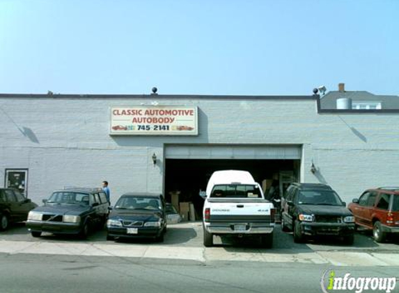 Classic Automotive Auto Body Inc. - Salem, MA