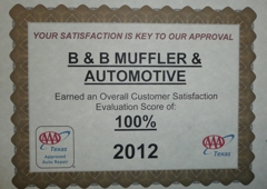 B & B Muffler & Automotive Service Center - Austin, TX