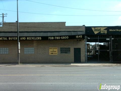 United Scrap Metal Inc 1545 S Cicero Ave, Cicero, IL 60804 - YP com