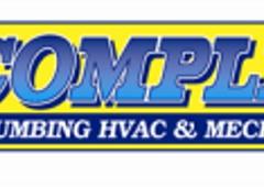 Complete Plumbing HVAC & Mechanical, Inc.