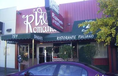 Villa Romana Pizzeria And Restaurant - San Francisco, CA