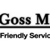 M J Goss Motor Co