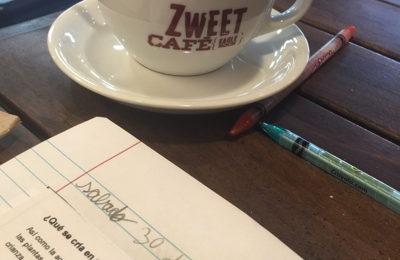 Zweet Cafe - Los Angeles, CA. Great spot to study