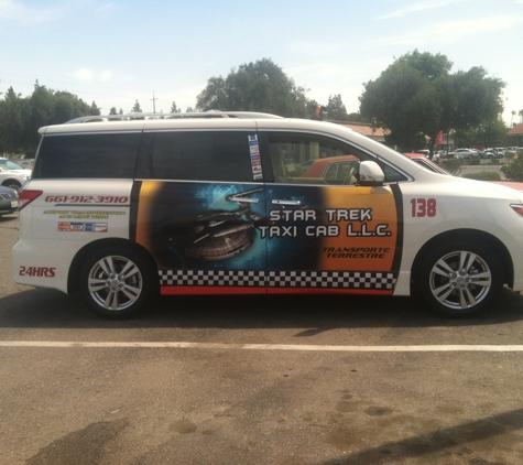 Star Trek Taxi Cab