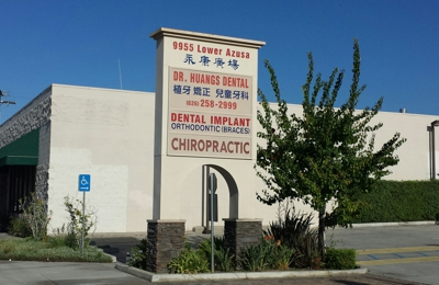 Dr Bill Chao, D.C. - Temple City, CA. Business sign