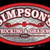 Simpson's Trucking & Grading Inc