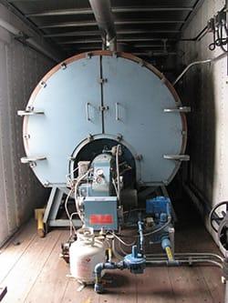 mobile boiler