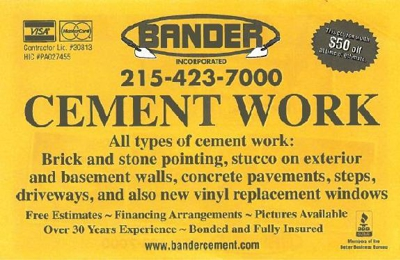 Bander, Inc. - Philadelphia, PA