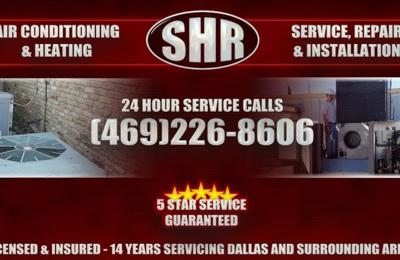 SHR A/C & Heating. Awesome ac repair in dallas