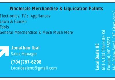 Local Deals NC (Wholesale Liquidation Pallets & Merchandise