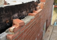 Motta Brickwork Inc - Clifton Heights, PA. Building process day 3