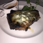 The Capital Grille - Atlanta, GA. Ribeye topped with blue cheese crumbles