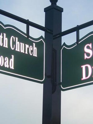 Sign Design.