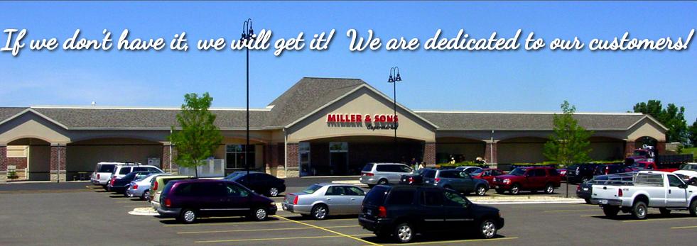 Miller And Sons >> Miller Sons Supermarket 1845 Springdale St Mount Horeb Wi 53572