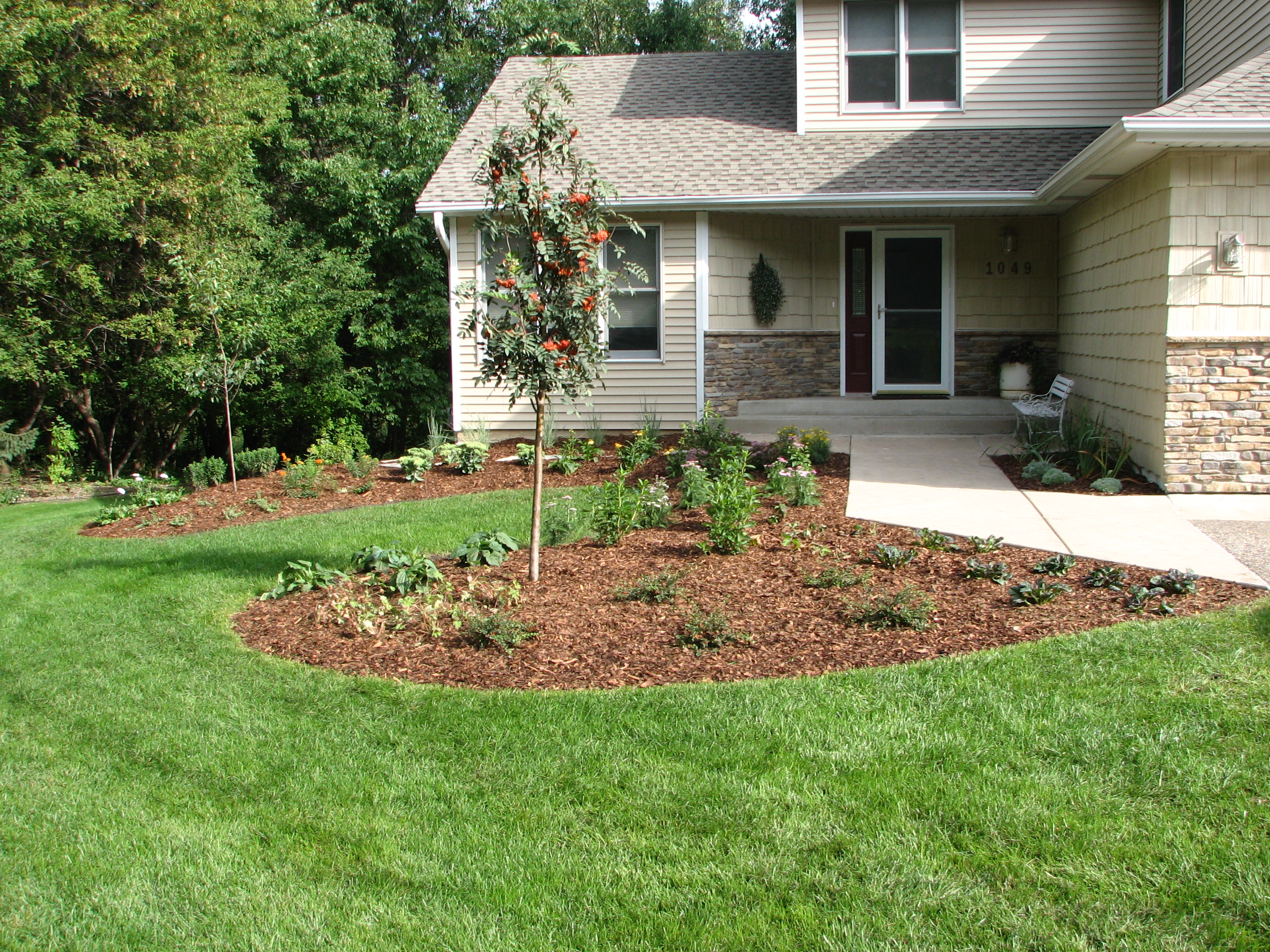 vince landscaping n3801 will rd jefferson wi 53549 ypcom - Landscaping Pictures