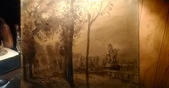 """King Arts Complex - Columbus, OH. Please find info on this vintage style 18""""×12""""? Canvas oil painting $or€ if possible Ty"""