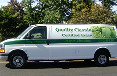 Quality Cleaning, INC. - Creswell, OR. Look for this van coming to your home!