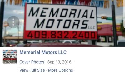 Memorial Motors - Beaumont, TX