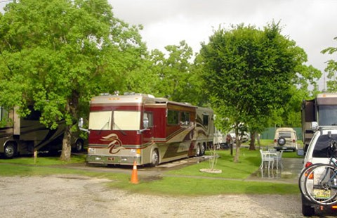 Louisiana RV Parks and Louisiana Campgrounds: Half price camping at the.