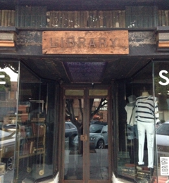 Library - Los Angeles, CA. Store front