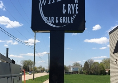 Spectacular Signs - Westland, MI. Pole sign with rounded corner