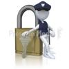 Aqua Lock & Key Store