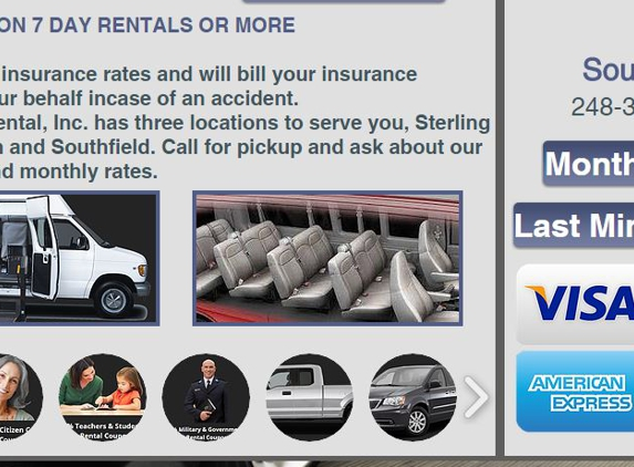 Lakeside Car Rental - Southfield, MI