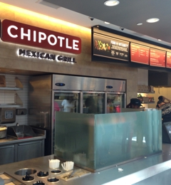 Chipotle Mexican Grill - Culver City, CA. From the front