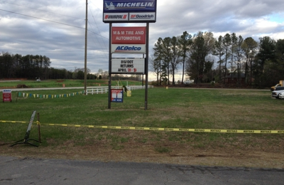 M & M Tire And Auto Inc - Summerfield, NC