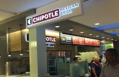 Chipotle Mexican Grill - Culver City, CA. Mall sign