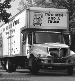Two men and a truck muncie
