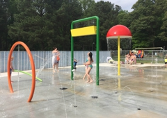Carter Aquatics - Lewes, DE. Flicker's Splash Pad, Tall Pines Campground & Resort | Lewes, Delaware Spring 2016