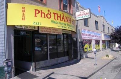 Pho Thanh Hung - Oakland, CA