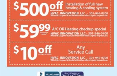 H V A C Innovation llc - Silver Spring, MD