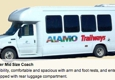Alamo Trailways Bus Charters & Sightseeing - San Antonio, TX