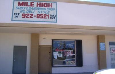 Mile High Sandwich Shop - Hollywood, FL