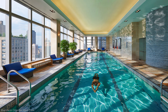 best indoor swimming pools in u.s. hotels