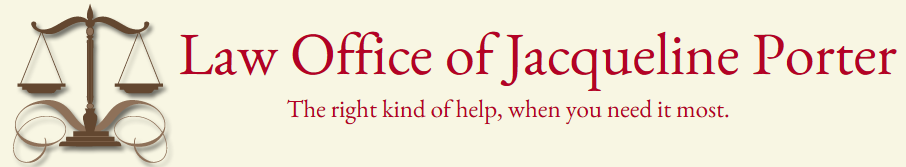 The Law Office of Jacqueline Porter Header Image