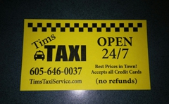 Tims Taxi Service