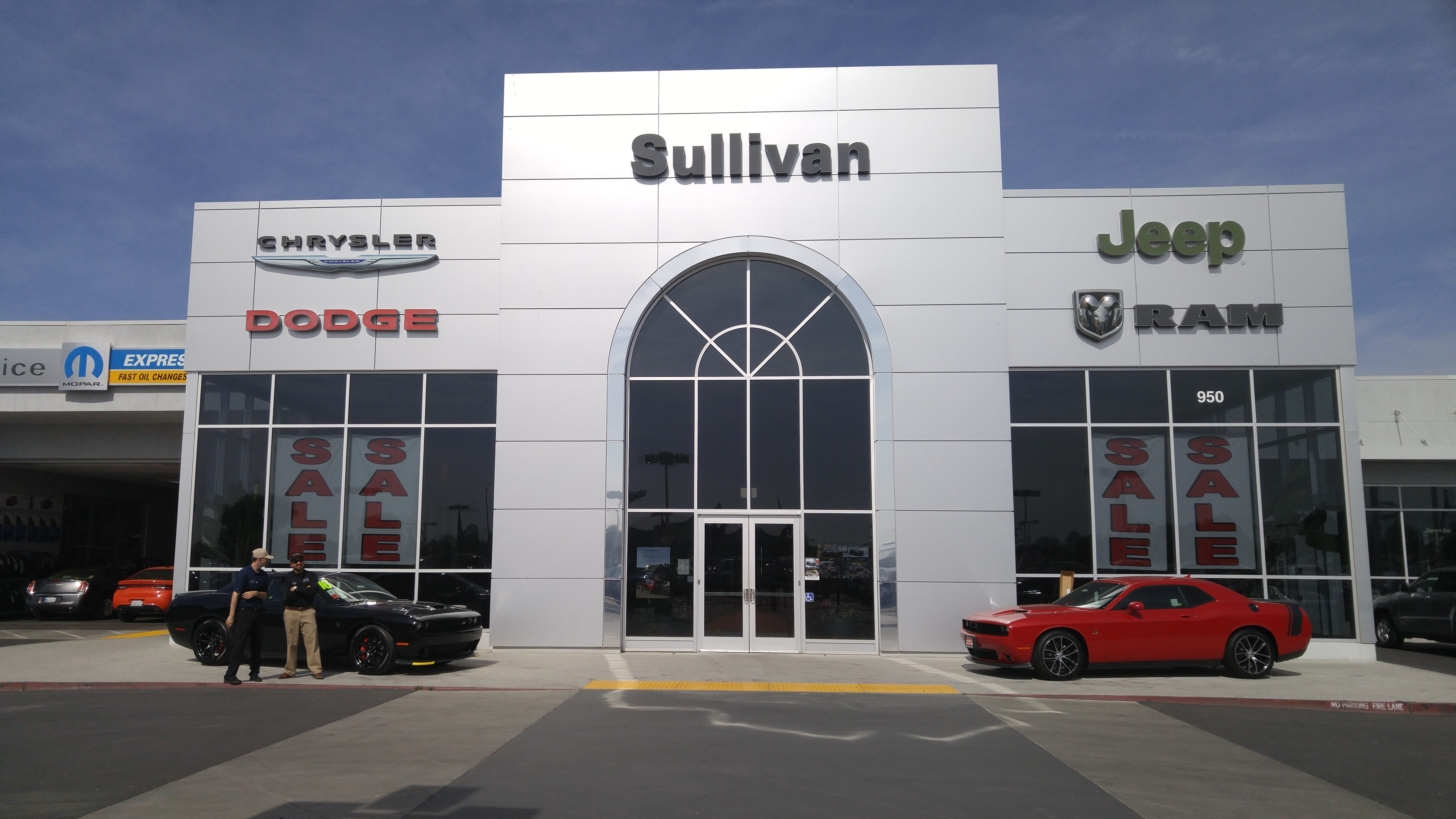 John L. Sullivan Chrysler Dodge Jeep Ram 950 Harter Pkwy, Yuba City