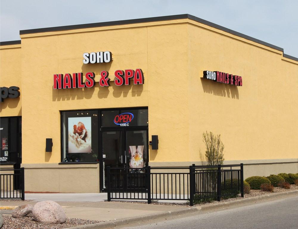 SOHO nails & spa onalaska wi 1230 Crossing Meadows Dr, Onalaska, WI ...