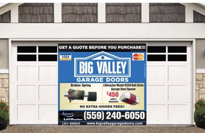 Big Valley Garage Doors Inc   Clovis, CA. Donu0027t Get Trapped In