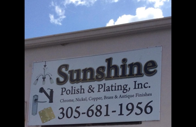 Sunshine Polish & Plating 4149 E 10th Ct, Hialeah, FL 33013
