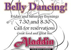 Aladdin Mediterranean Grill - Palm Beach Gardens, FL