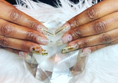 Sky Nail Bar & Day Spa - Charlotte, NC. New European liquid gel nail ( healthy & natural process for extensions nails)