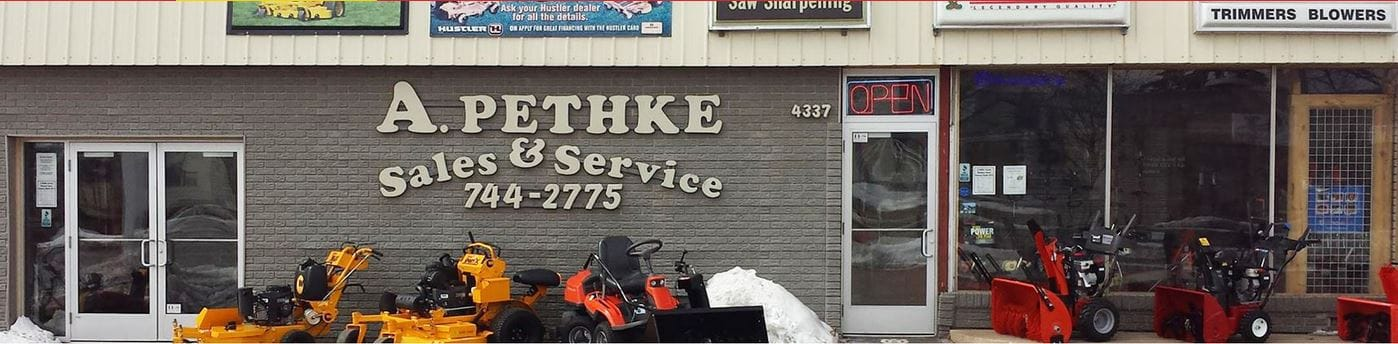 Lawnmower Repair and Sales Shop