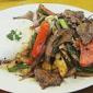 Variedad De Pupusas Restaurante Estela - Wilmington, CA. lomo saltado